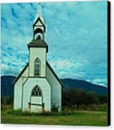 A Church In British Columbia   Canvas Print