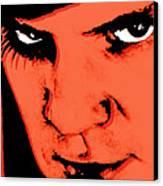 A Clockwork Orange Malcolm Mcdowell Canvas Print by Tony Rubino
