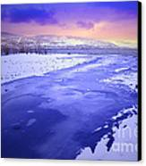 A Cold New Years Eve Canvas Print