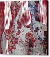 A Couple Canvas Print by Jack Zulli