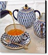 A Cup Of Tea Canvas Print by Louise Heusinkveld