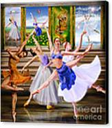 A Dance For All Seasons Canvas Print by Reggie Duffie