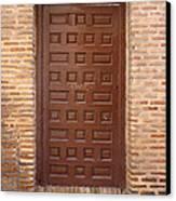 A Door In Toledo Canvas Print