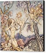A Fairy Song From A Midsummer Nights Dream Canvas Print