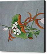 A Flower Canvas Print by Im Son