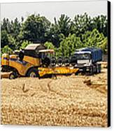 A French Harvest Canvas Print