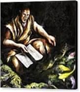 A Letter Canvas Print