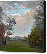 A Little Break From The Rain Canvas Print