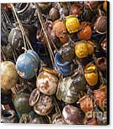 A Lot Of Crock Canvas Print by Bob Phillips