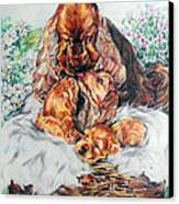 A Mother's Love Canvas Print by Melanie Alcantara Correia