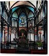 A Place Of Faith Canvas Print by Kim Lagerhem