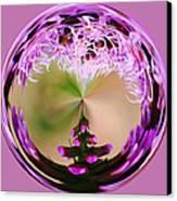 A Purple Design Canvas Print