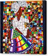 A Quilter's Dream Canvas Print by Aisha Lumumba