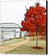 A Soft Autumn Day Canvas Print