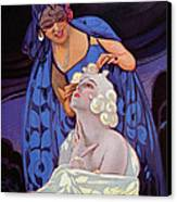 A Spanish Hairdresser Canvas Print