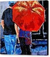 A Sunny Monet Canvas Print