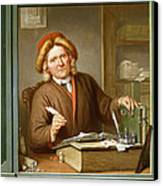 A Tax Collector, 1745 Canvas Print by Tibout Regters