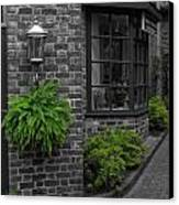 A Touch Of Green In The City Canvas Print by Dan Sproul