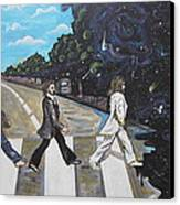 A Twist On Abbey Road By Erik Franco.  Canvas Print
