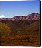 A Utah Landscape In Autumn Canvas Print