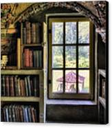 A View From The Study Canvas Print by Susan Candelario
