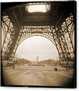A Walk Through Paris 14 Canvas Print by Mike McGlothlen