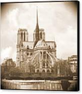 A Walk Through Paris 25 Canvas Print by Mike McGlothlen