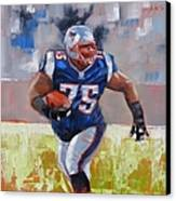 A Well Conditioned Athlete Canvas Print