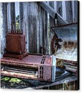 Abandoned Appliances. Canvas Print