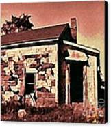 Abandoned Cape Breton House Canvas Print by John Malone