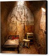 Abandoned - Eastern State Penitentiary - Life Sentence Canvas Print by Mike Savad