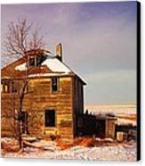 Abandoned House Canvas Print by Jeff Swan