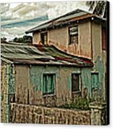 Abandoned In The City Canvas Print by Kathy Jennings