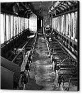 Abandoned Railcar Canvas Print