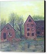 Abandoned Canvas Print by Andrea Friedell