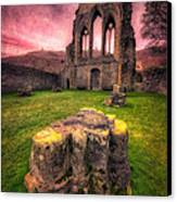 Abbey Ruin Canvas Print