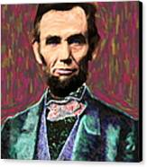 Abe 20130115 Canvas Print by Wingsdomain Art and Photography