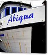 Abiqua Canvas Print by Mamie Gunning