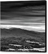 Above Asheville Canvas Print by Steven Llorca