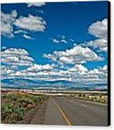 Abq From 9 Mile Hill Canvas Print