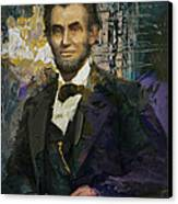 Abraham Lincoln 07 Canvas Print by Corporate Art Task Force