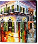 Absinthe House New Orleans Canvas Print by Diane Millsap