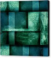 abstract art Blue Dream Canvas Print by Ann Powell
