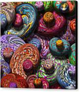 Abstract - Beans Canvas Print