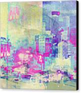 Abstract City Canvas Print by Mark-Meir Paluksht