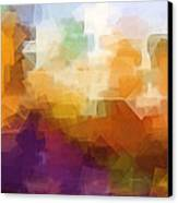 Abstract Cityscape Cubic Canvas Print