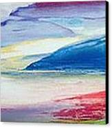 Abstract Composition Canvas Print by Lou Gibbs