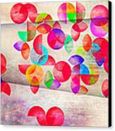 Abstract Floral  Canvas Print by Mark Ashkenazi