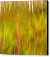 Abstract Forest Scenery Canvas Print