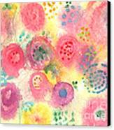 Abstract Garden #45 Canvas Print